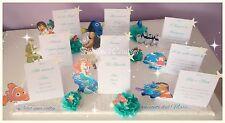 TABLEAU 3D DISNEY-Matrimonio,Battesimo Favole Mare-Personalizzabile 50x70