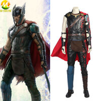 Thor Ragnarok Cosplay Costume Odinson Thor Luxurious Suit Halloween Outfit Men