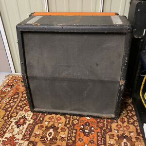 Vintage 1970s 1977 Marshall 4x12 Guitar Cabinet Amplifier EMPTY UNLOADED Spares