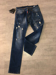 Dsquared2 Denim Herren Jeans Mode Jeans Hose Size 48 Neu