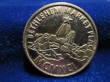 Bethlehem Market Place Medal Vintage 1991 Fairview Missionary Church Angola IN