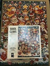 Christmas Jigsaw Puzzle 1000 Pieces Santa Claws By Bill Ben Cats