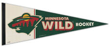 MINNESOTA WILD NHL Vintage Hockey Collection Premium Felt Collectors PENNANT