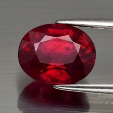 Only! $56.03/1pc 10x8mm Oval Natural Top Red Ruby (Heated Glass Filled)
