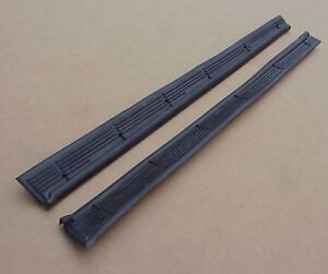 1949 1950 1951 1952 Plymouth DOOR SILL MAT Pair NEW 2 Door Deluxe Special Deluxe