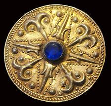 antik Orient nomaden Silber Brosche afghan Jumud  tribal Vintage brooch 17/D