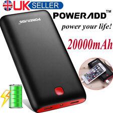 Poweradd Pilot X7 20000mAh Portable Universal External Power Bank Red-Black UK