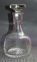 KARAFFE Whiskykaraffe Kristallglas mit Sternschliff mundgeblasen Whiskey 0,75 l