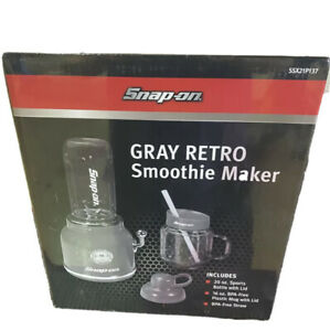 Sealed In Box - SnapOn Collectible Gray Retro Smoothie Maker SSX21P137 Blend