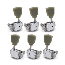 Guitar Tuning Pegs Machine Heads Locking Tuner Knob Button For Gibson Style 3L3R