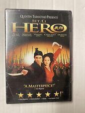 Hero (Dvd, Widescreen, 2002) Jet Li New Sealed Free Shipping!