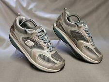 Skechers Shape-Ups Donna Scarpe da ginnastica Silver/Blu Tg UK 7 EUR 40
