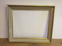 cadre tableau ancien en bois XXe-s pour toile 46.5 x 38.5 cm