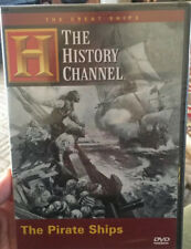HISTORY CHANNEL: THE GREAT SHIPS: THE PIRATE SHIPS NEW DVD