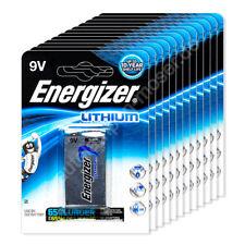 12x 9V E-Block / Batterie, Energizer Ultimate Lithium, 9V, 12x 1er Blister, 12 S