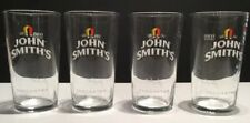 JOHN SMITH'S TADCASTER PINT GLASSES X 4 NEW FROM BOX 100% GENUINE CE MARKED