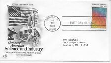 US Scott #2031, First Day Cover 1/19/83 Chicago Single Science