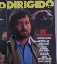 """Revistas (4) Cine """"Dirigido por..."""": Spielberg / E.T. / Conan / Casablanca."""