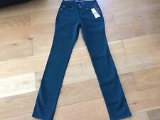 NEW * Kenneth Cole NEW YORK  Jeans size 10 - Green / Petrol  KC373