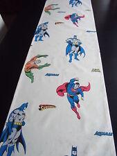 Tischläufer Superhelden Vintage Impressionen*ca.165x40 cm Comic Batman Superman