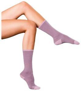 Falke Womens Finest No1 Cashmere Relax Socks - Dusty Lilac
