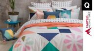 BAMBURY MEMPHIS DUVET DOONA QUILT COVER SET & 2 PILLOWCASES - QUEEN