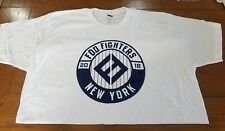FOO FIGHTERS MSG NYC POP UP XL XLARGE YANKEES THEME TSHIRT 2018 SOLDOUT POSTER