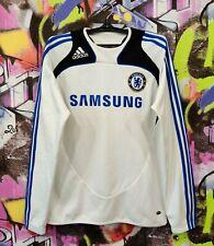 Chelsea FC Football Shirt Soccer Jersey Longsleeve Top Adidas 2008 Mens Size M