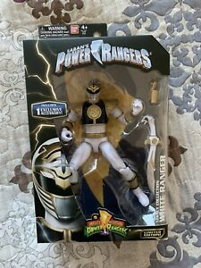 Rare Power Rangers Legacy Mighty Morphin White Ranger Figure