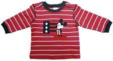 Neu! Disney Mickey Mouse Langarmshirt Longsleeve Shirt Sweatshirt T-Shirt 68