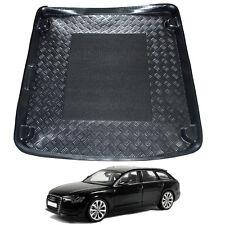 Audi A6 Avant est C7 with rails LDPE boot liner rubber load mat bumper protector
