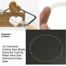 1-10PCS 0.26MM Diamond Cutting Wire Jade Saw Blade For Metal Emery Jade Glass