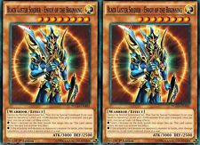 Black Luster Soldier - Envoy of the Beginning YGLD-ENA02 1st (X 2) YUGIOH mint
