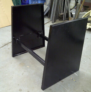"""Stand for 40"""" 3-in-1 Machine Sheet Metal Folder"""