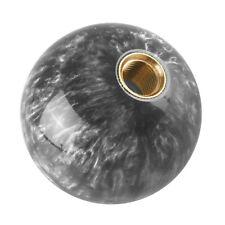 Universal Car Gear Shift Knob Shifter Lever Grey Ball Shape M12*1.25mm