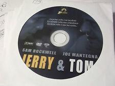 "DVD  "" JERRY & TOM "" SAM ROCKWELL JOE MANTEGNA -  DA EDICOLA - (129)"