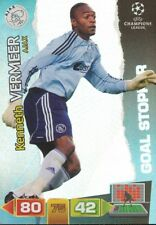 KENNETH VERMEER GOAL STOPPERS  AJAX CARD ADRENALYN CHAMPIONS LEAGUE 2012 PANINI