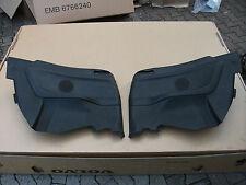 BMW E36 Cabrio Türverkleidung Türpappen Seitenverkleidung schwarz hinten