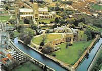 BT17804 aerial view of wells cathedral bishop s palace and moat   uk