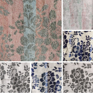 500 GSM TWINPACK PRINTED FLORAL 100% TURKISH COTTON HAND TOWELS SIZE 50x90cm