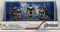 Marvel Avengers EndGame Disney Figurine Playset 5 figures Hulk Thor Black Widow
