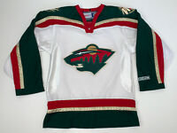 Vintage Minnesota Wild NHL Hockey Jersey Size Adult Small White
