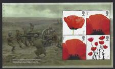 GREAT BRITAIN 2017 WORLD WAR 1 1917 POPPY PANE 1 UNMOUNTED MINT, MNH