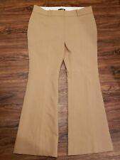 Ann Taylor Women's Tan Beige Work Career Pants Size 12P Rise 10in Inseam 29in