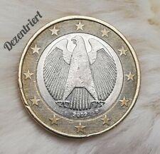 ======1 Euro Münze====== _____Deutschland 2002_____ ======(Fehlprägung)======
