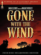 Gone With the Wind ( 2004, 4-DVD Set) COLLECTORS EDITION NEW** FREE SHIPPING