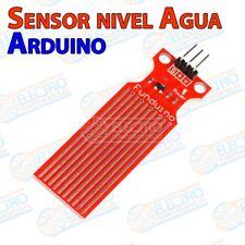 Sensor de Gotas Agua y nivel analogico - Arduino Electronica DIY