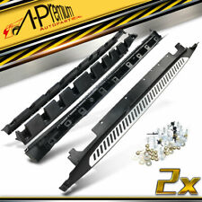 A-Premium Side Steps Running Boards Brackets for BMW X1 F49 Long Wheelbase 16-17