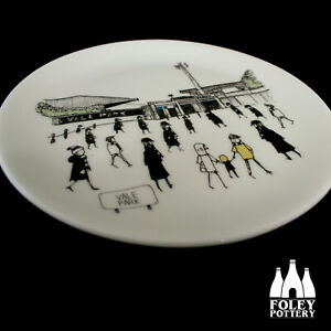 FFG: Port vale FC, Vale Park, inspired Bone China Plate By Foley Pottery