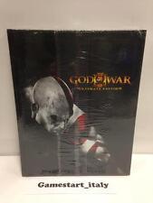 GOD OF WAR III 3 ULTIMATE EDITION GUIDA STRATEGICA NUOVO SIGILLATO ITALIANA